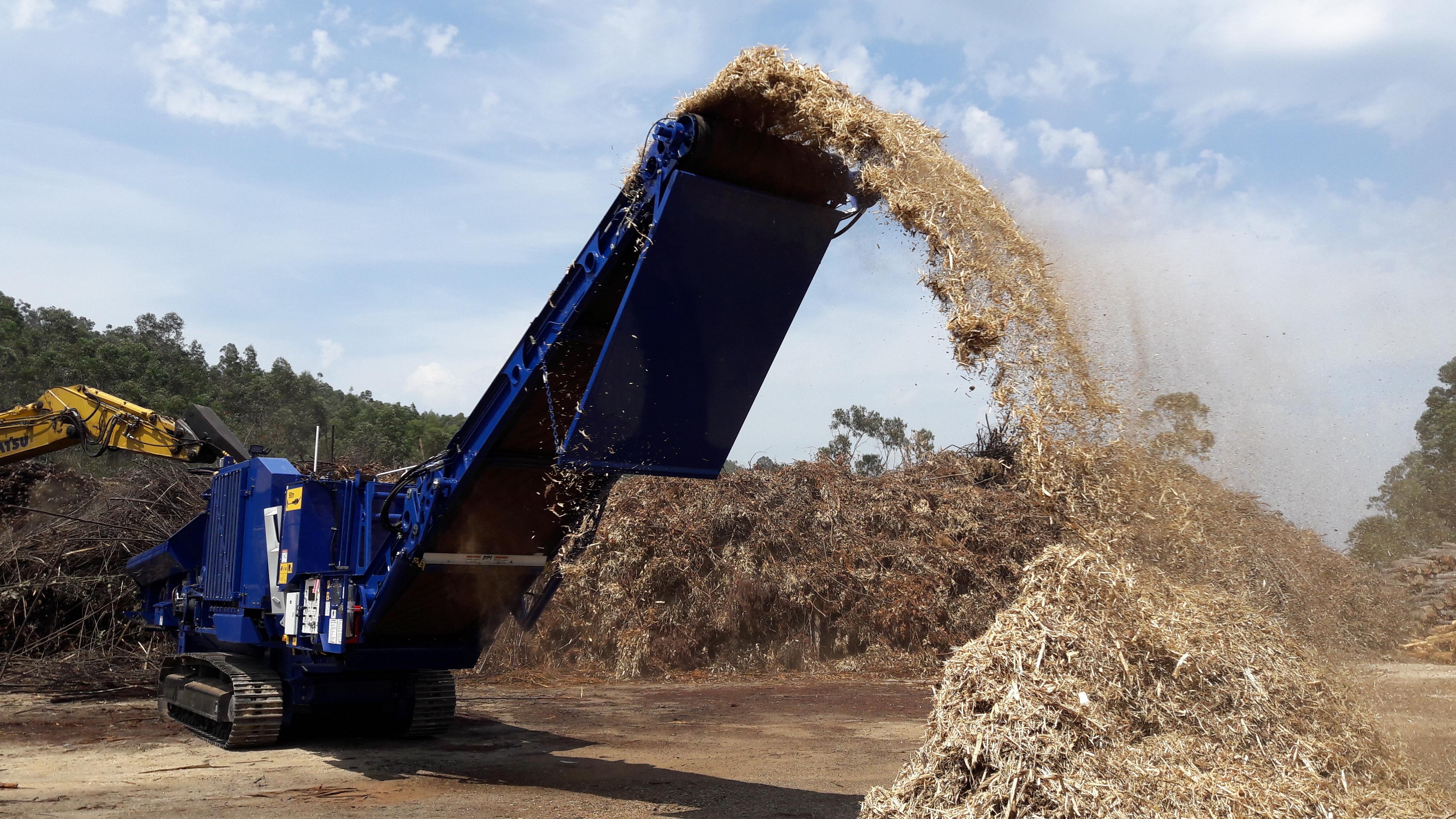 Equipos De Preparación De La Biomasa Con Fines Energéticos