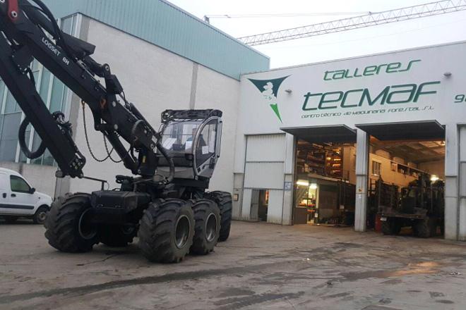 Tecmaf: Un Referente En España En Adaptación Y Reparación De Maquinaria Forestal