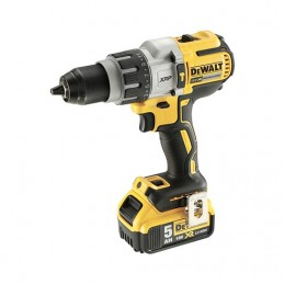 TALADRO PERCUTOR SIN ESCOBILLAS XR 18V XRP 2x5,0AH DEWALT