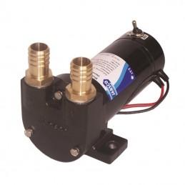"""Pompe Fuel JABSCO 50L/min 24V interrupteur et fusible H/P Hose 1"""" (25mm)"""