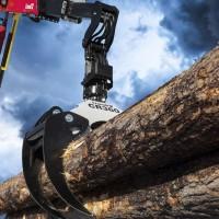 Pinzas cranab para autocargadores forestales