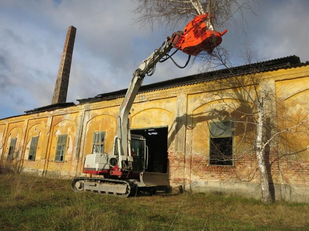 La Mecanización De Poda En Altura Y Desmontado De árboles