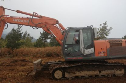 Excavadora OP Forestal HITACHI ZX240N-3