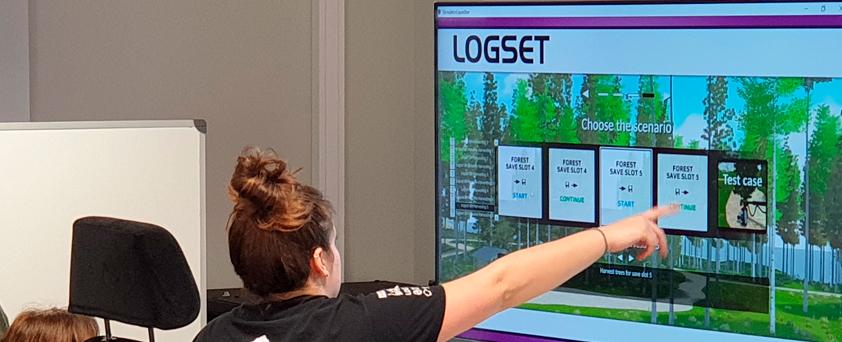 20200401 Simulador Logset Autocargador Procesadora Excavadora